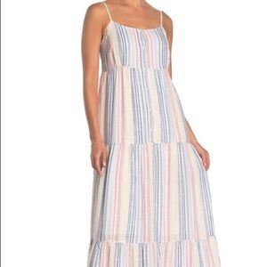 NWOT Splendid Arco Iris Maxi Dress